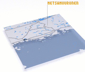 3d view of Metsämuuronen