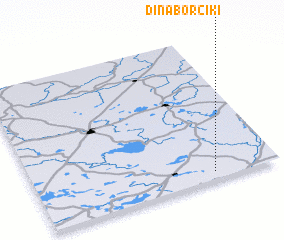 3d view of Dinaborčiki