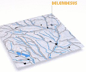 3d view of Deleni de Sus