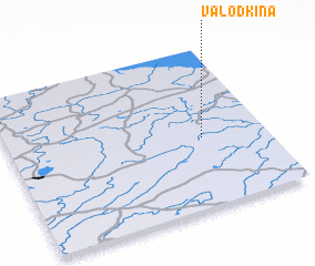 3d view of Valodkina