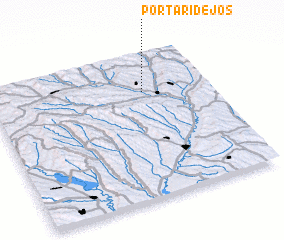 3d view of Portari de Jos
