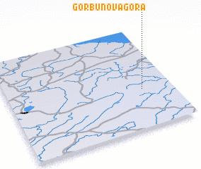 3d view of Gorbunova Gora
