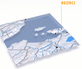 3d view of Bezirci