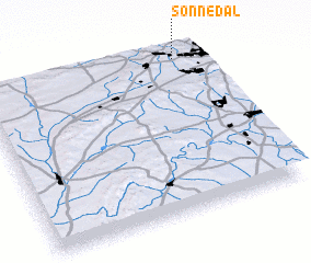3d view of Sonnedal