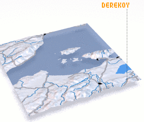 3d view of Dereköy