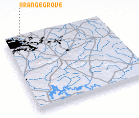3d view of Orange Grove