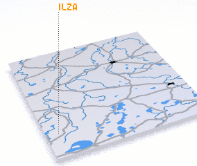3d view of Ilza