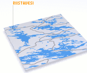 3d view of Riistavesi