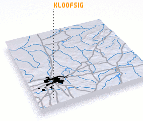 3d view of Kloofsig