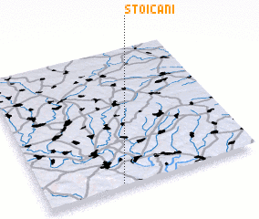 3d view of Stoicani