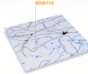 3d view of Bedritsa