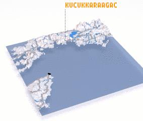 3d view of Küçükkaraağaç
