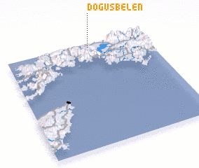 3d view of Döğüşbelen