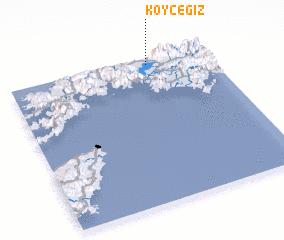 3d view of Köyceğiz