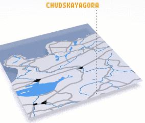 3d view of Chudskaya Gora