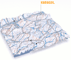 3d view of Karagöl