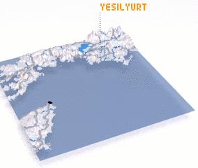 3d view of Yeşilyurt