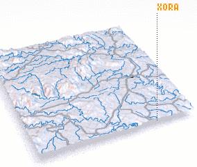 3d view of Xora
