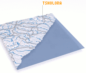 3d view of Tsholora