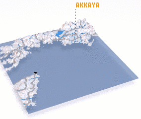 3d view of Akkaya