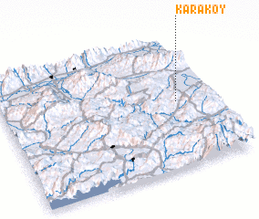 3d view of Karaköy