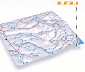 3d view of Kalangala