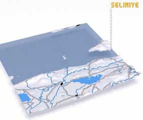 3d view of Selimiye