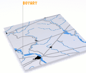 3d view of Boyary