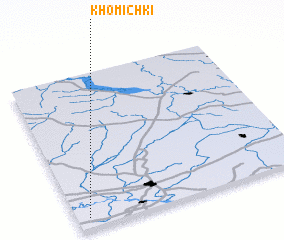 3d view of Khomichki
