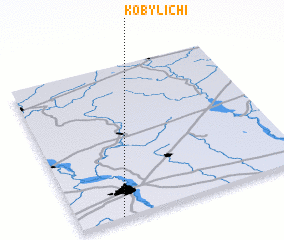 3d view of Kobylichi