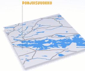 3d view of Pohjois-Vuokko