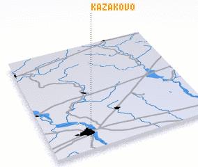 3d view of Kazakovo