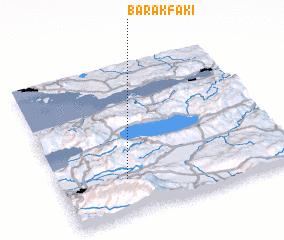 3d view of Barakfakı