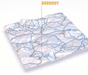 3d view of Dereköy