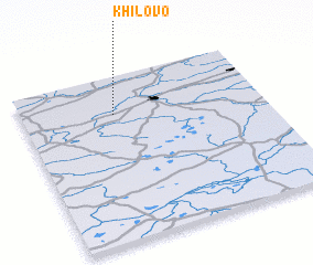 3d view of Khilovo