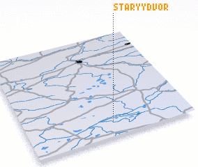 3d view of Staryy Dvor