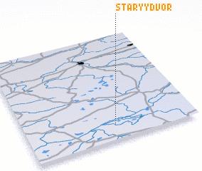 3d view of Staryy Dvor