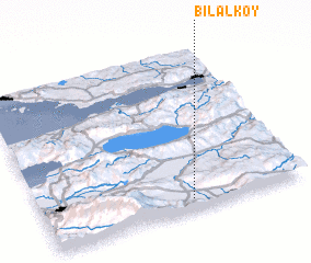 3d view of Bilâlköy