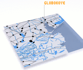 3d view of Glubokoye