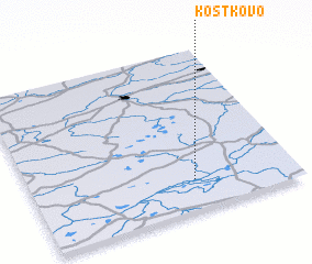3d view of Kostkovo