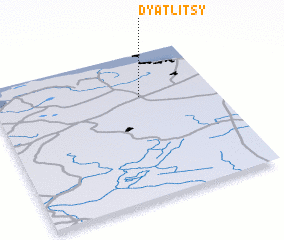 3d view of Dyatlitsy