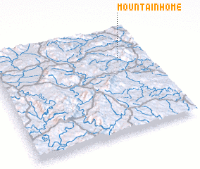 3d view of Mountain Home