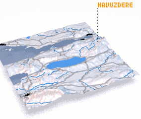 3d view of Havuzdere