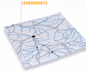3d view of Les Bournets