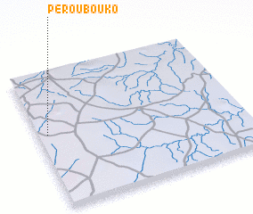 3d view of Péroubouko