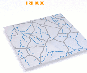 3d view of Krikoubé
