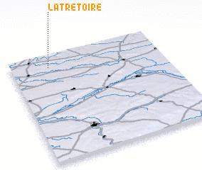 3d view of La Trétoire