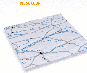 3d view of Pisseloup