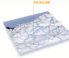 3d view of Ouled Laïd