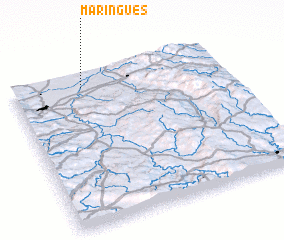 3d view of Maringues